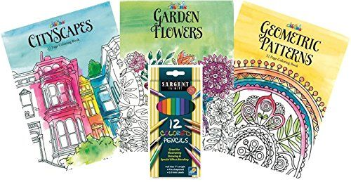 Just For Laughs Adult Coloring Book Kit With Pencil Set Amazon Dp B015R0M4S8 Refcm Sw R Pi ZxH1wb0Z0V1DR