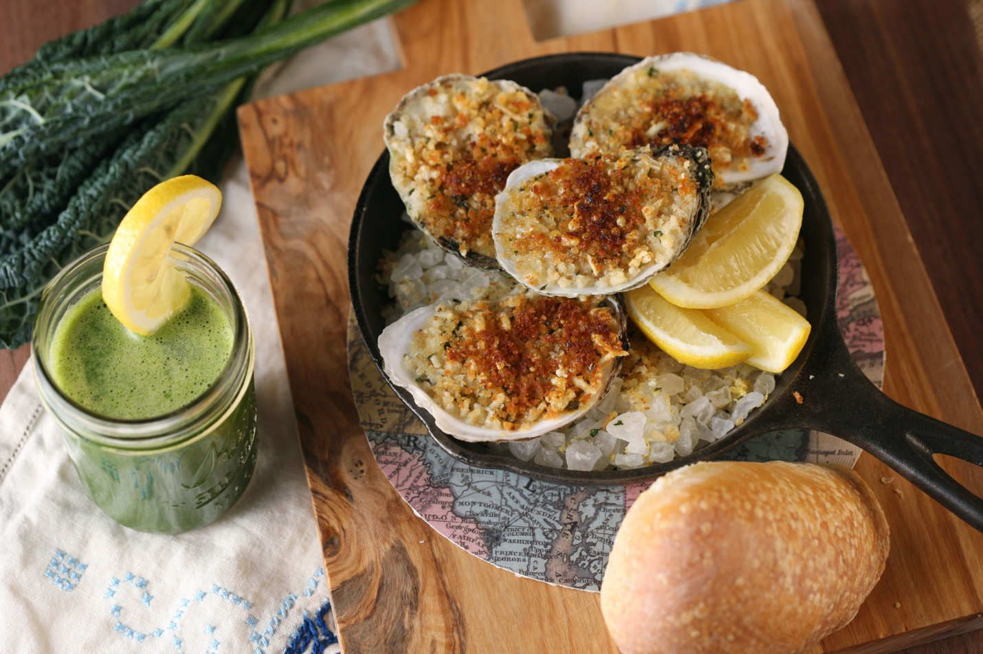 oysters + more in nyc | Oyster roast, Oysters, Cooked oysters