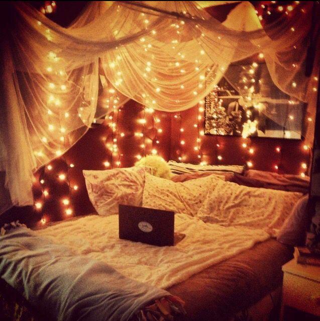 Hemelbed Met Lichtjes Diy Bed Kamer Idee 235 N Diy Gave Kamers