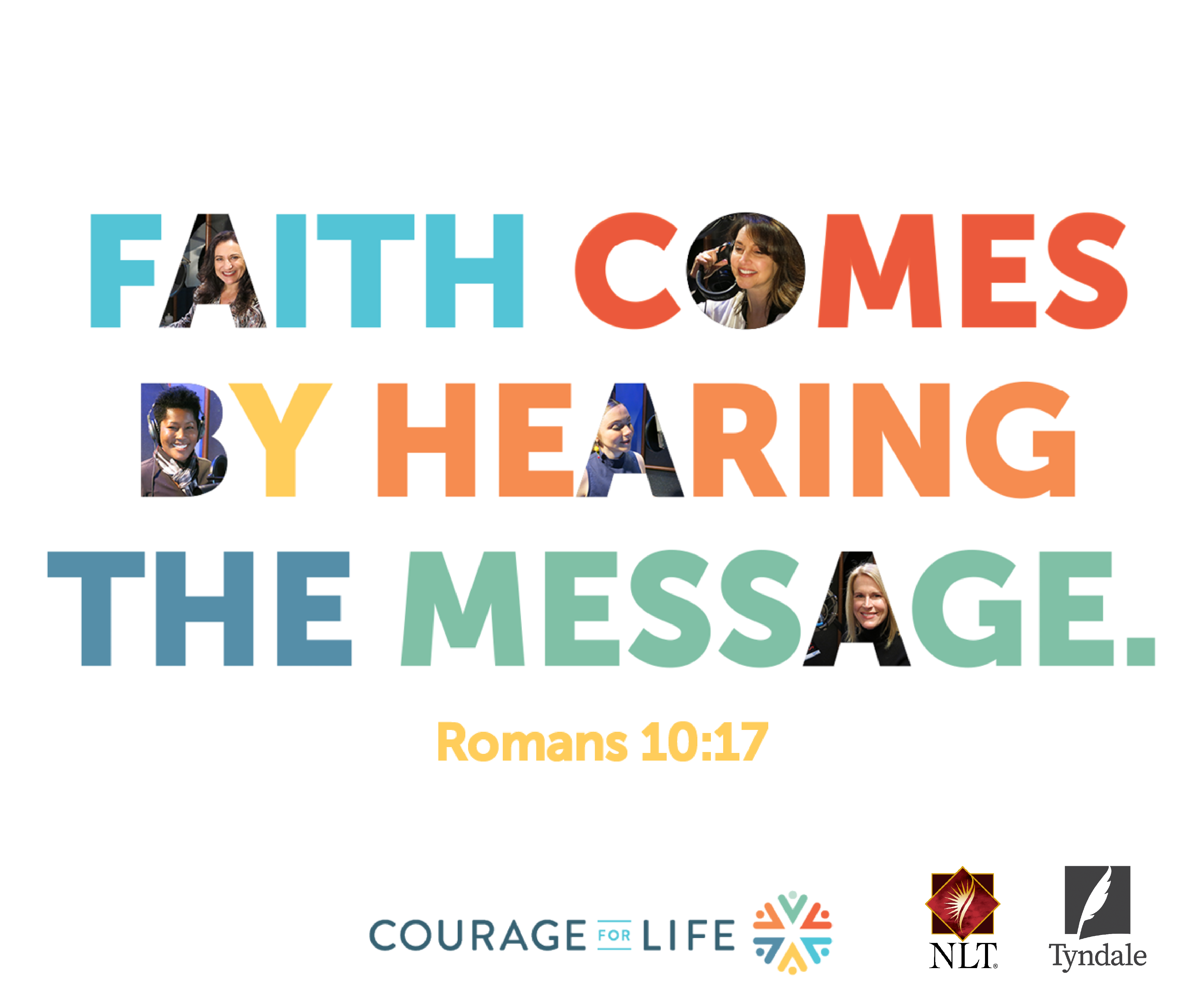 Audio Bible App | Courage for Life | Audio bible, Bible, Let god