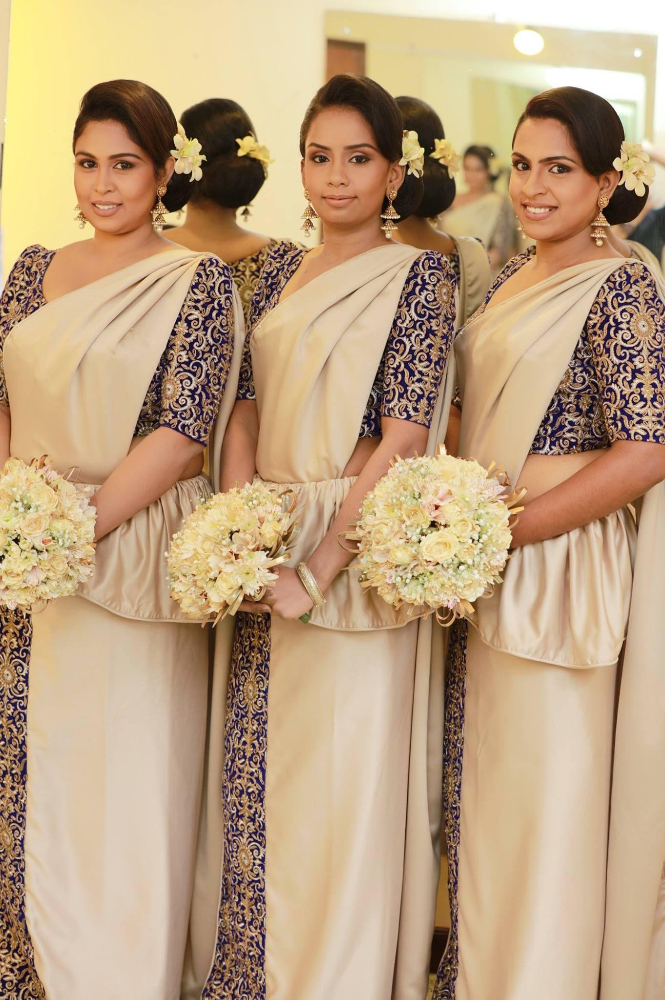 Hair makeup dressing indika bandara of inba sri for Wedding party dresses in sri lanka