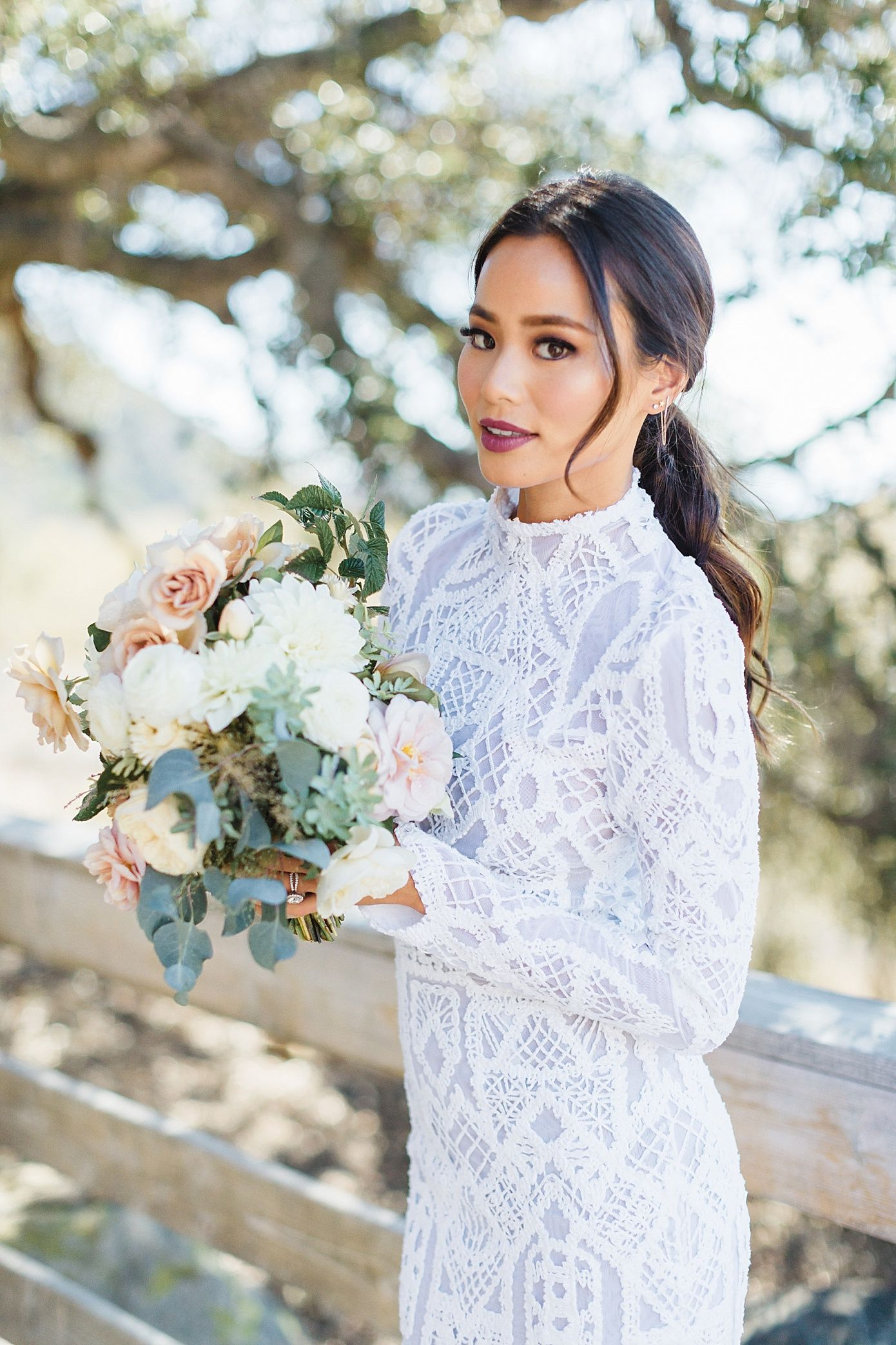 jamie chung wedding, chriselle lim fashion week, photoshop