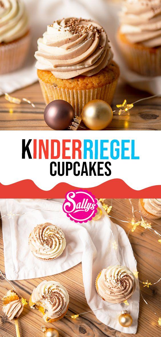 KINDERRIEGEL CUPCAKES MIT ORANGENMARZIPAN / SALLYS WELT – Mini Cakes & Cupcakes & Muffins