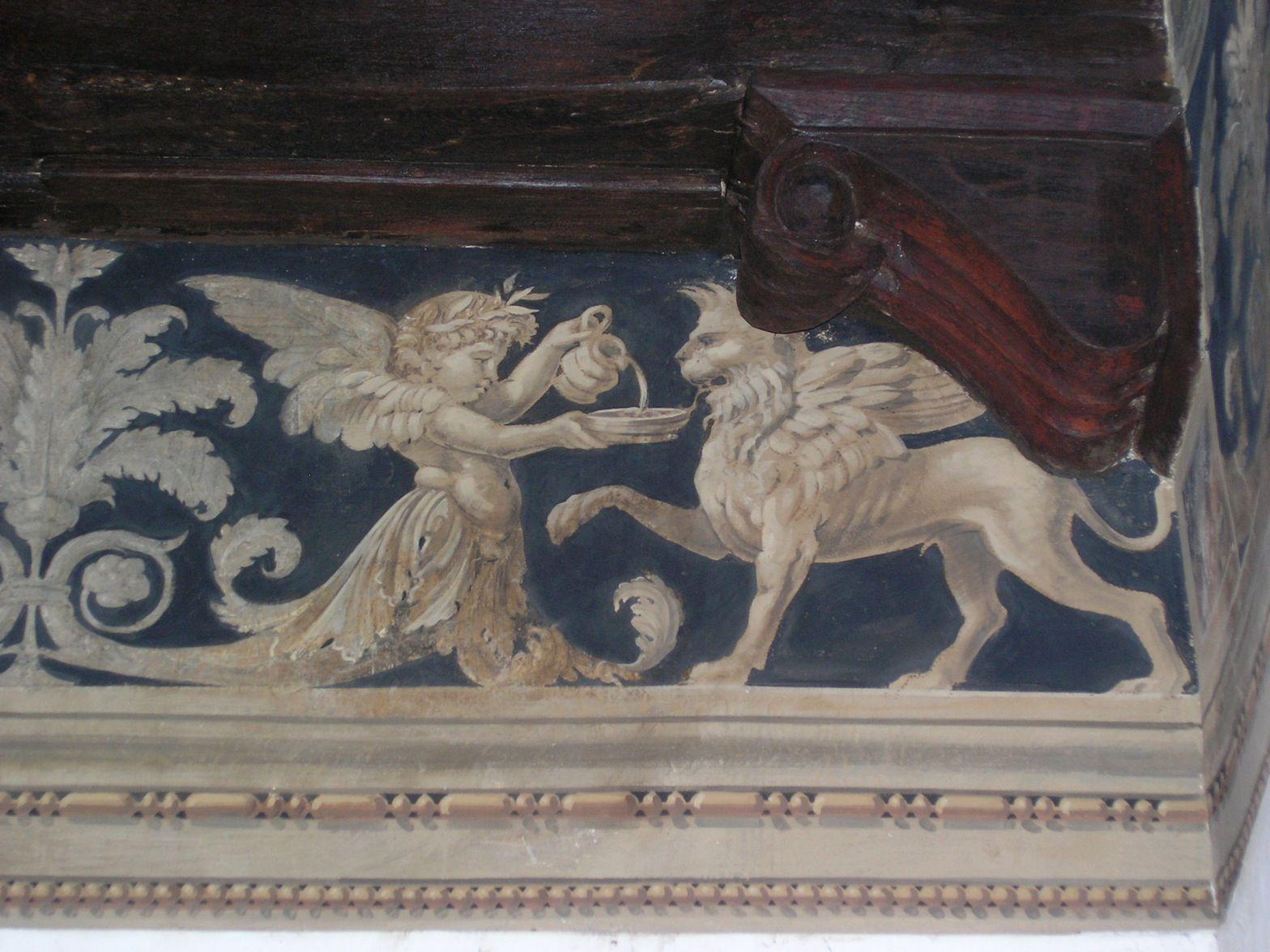 Lo Spazio Dipinto: Dettagli di Affresco