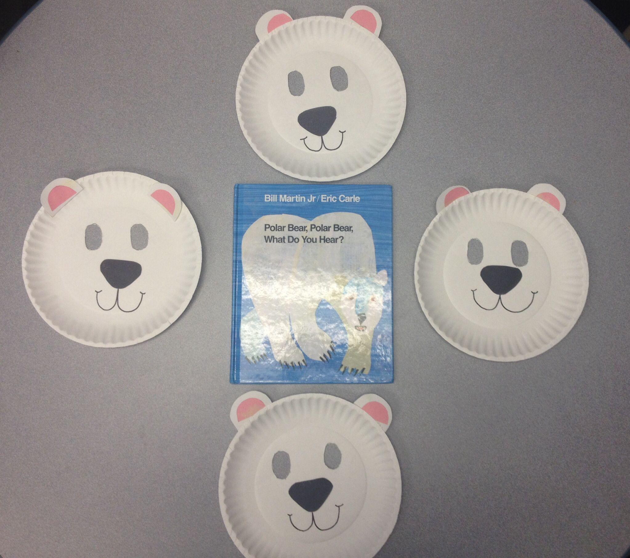 Preschool Crafts Our Favorite Books Week Polar Bear