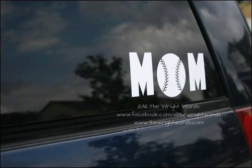 Hey, I found this really awesome Etsy listing at https://www.etsy.com/listing/239411843/765x3-baseball-mom-sport-vinyl-decal