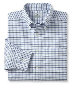 llbean wrinkle resistant classic oxford cloth shirt traditional