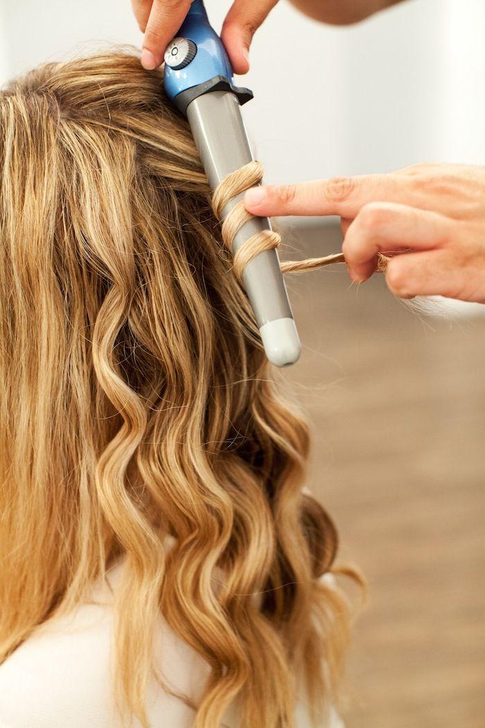 Beach Waves Hair Tutorial The Stripe Beach Waves Long Hair Waves Hair Tutorial Long Hair Waves