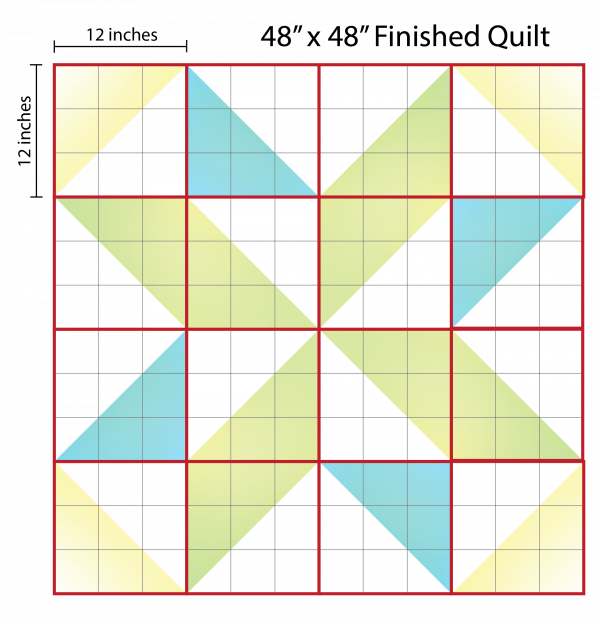 How to Supersize Quilt Blocks | WeAllSew