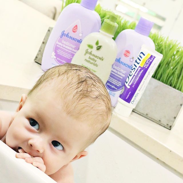IG Credit: @ashleyhuze - I am SO excited to share that Johnson & Johnson baby AND Desitin are available at iHerb and are shipped to over 160 countries! These are the only products I have used and trusted the past 5 years and I'm so excited to be using them on our newest little one! ☺️ If you're looking for the perfect gift idea for a baby shower or for that new mom, a gift basket of these goodies would be ideal!