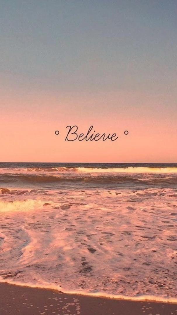 BELIEVE. LIVE WALLPAPER