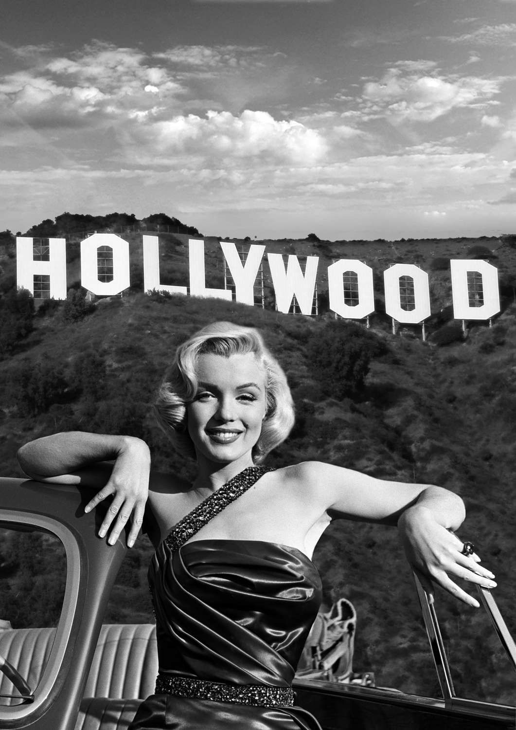 Marilyn Monroe Monochrome Photographic Print 38 (A4 Size - 210mm x ...