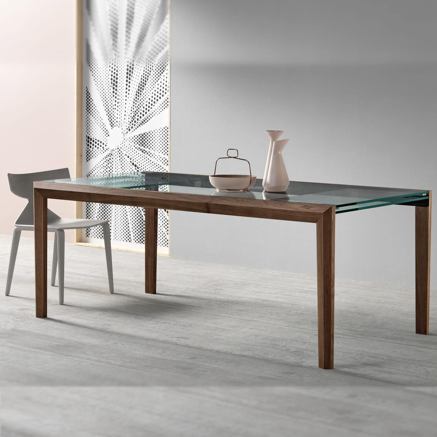 39++ Cheap extending glass dining table and chairs Top