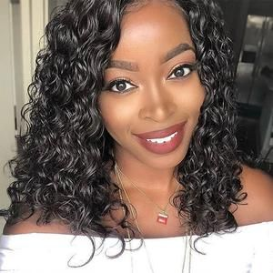 Photo of 2019 New Curly Human Hair  Lace Wig