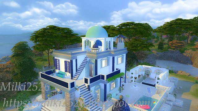 Beautiful views villa at Milki2526 • Sims 4 Updates