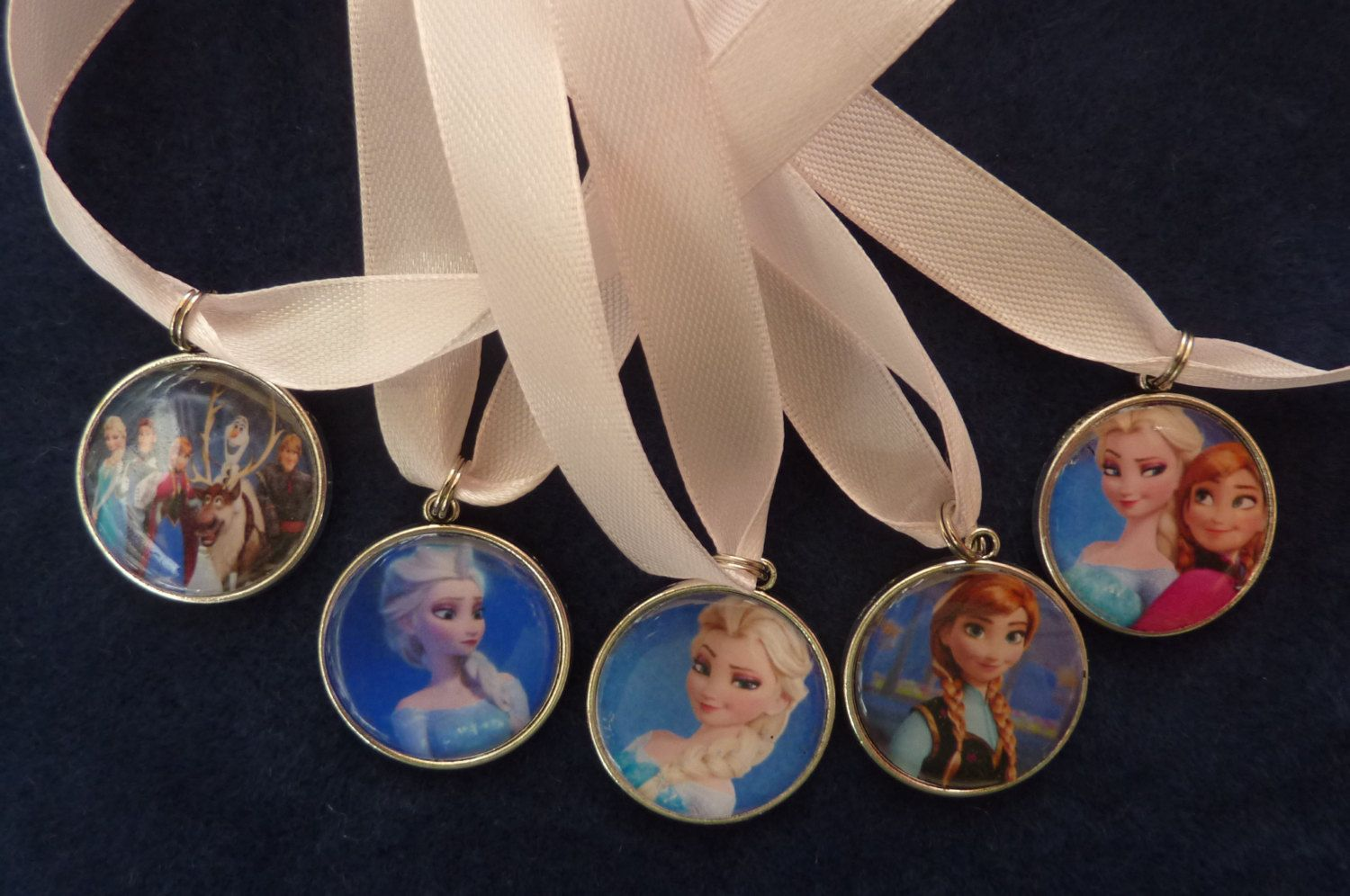 Frozen Pendants with 16 inch Chain by Jelubee on Etsy