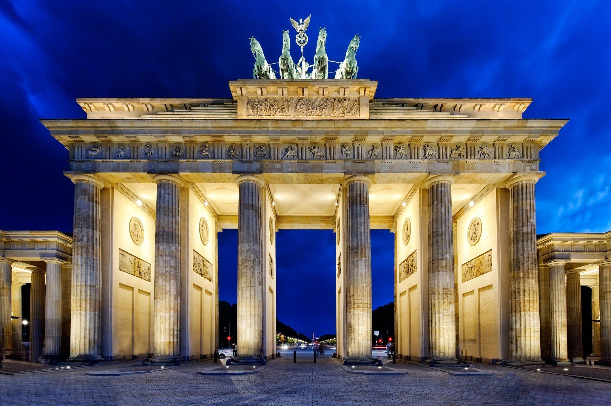 Fotografia Berlin Brandenburger Tor Por Hans Jurgen Malchow En 500px Berlim