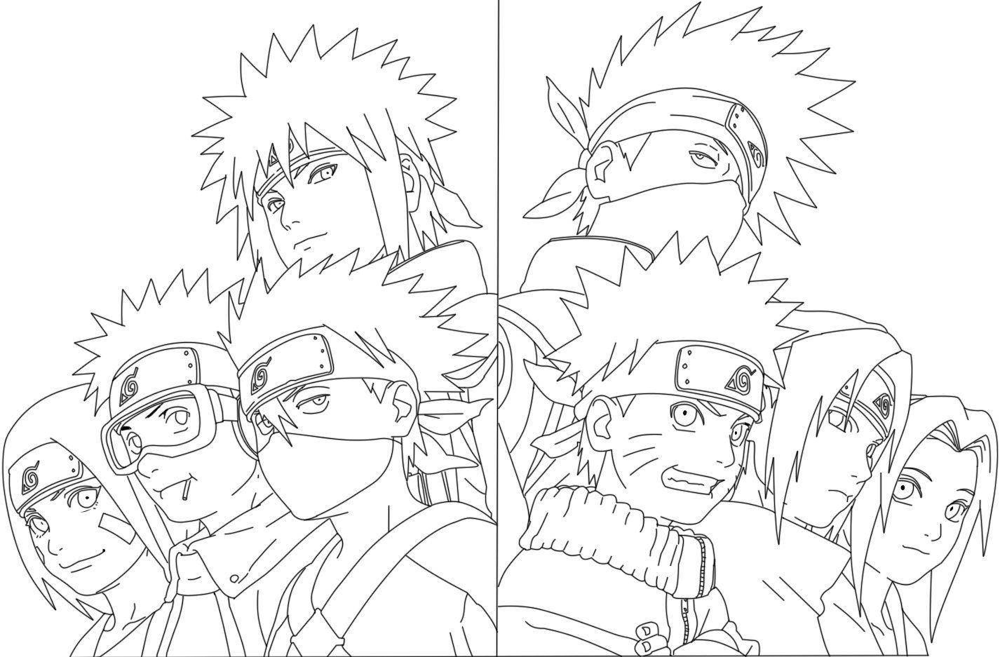 Complete Artbook Naruto Line By Https Www Deviantart Com Kenshiuchiha On Deviantart Naruto Drawings Naruto Sketch Drawing Naruto Art