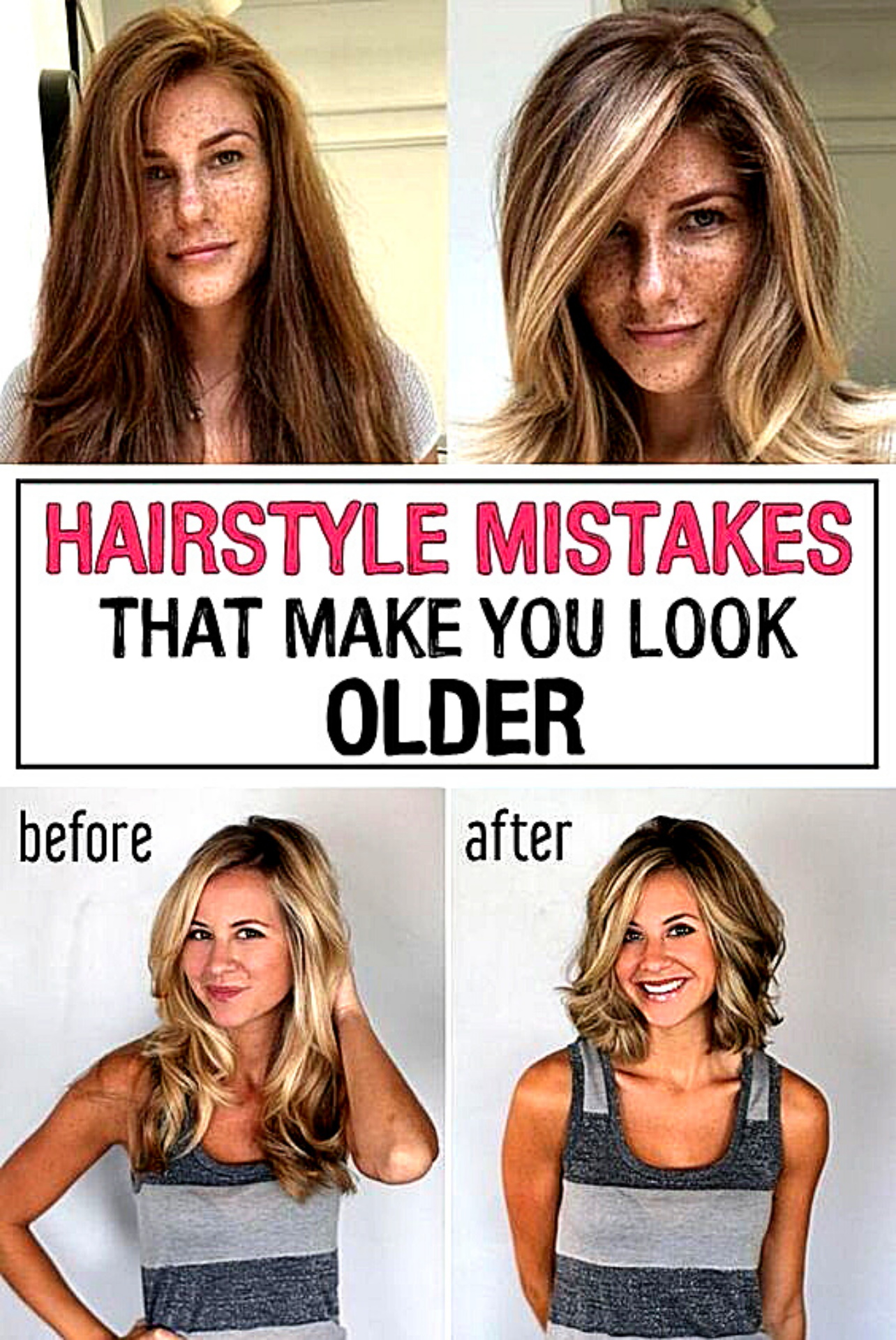 11 Hairstyle Mistakes That Are Aging You In 2020 Mom Hairstyles Hairstyle Hair Mistakes