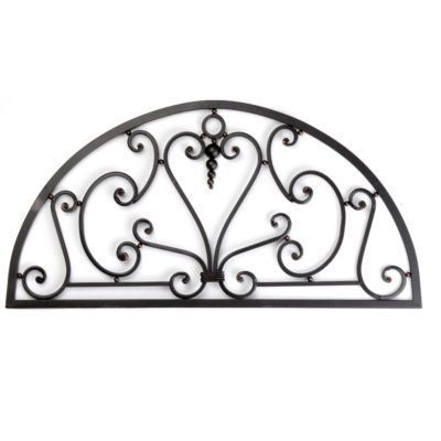 Scrolled Heart Half Round Metal Wall Art Kirkland S