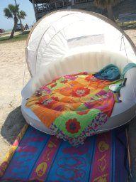 2 Pack Intex 78 x 59 Inflatable Pool Canopy Island Lounge Raft w// Sun Shade