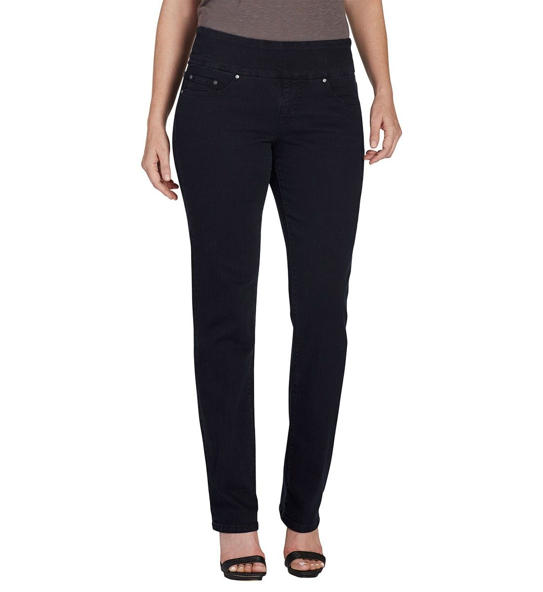 27052e13bab Petite Peri Straight - Supreme Denim - Black Void
