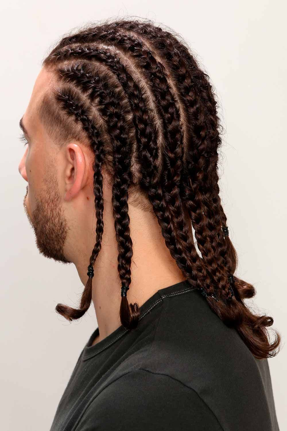 Braids For Men. Discover Why Man Braid Hairstyles Are So Popular Today in 2020   Long hair ...
