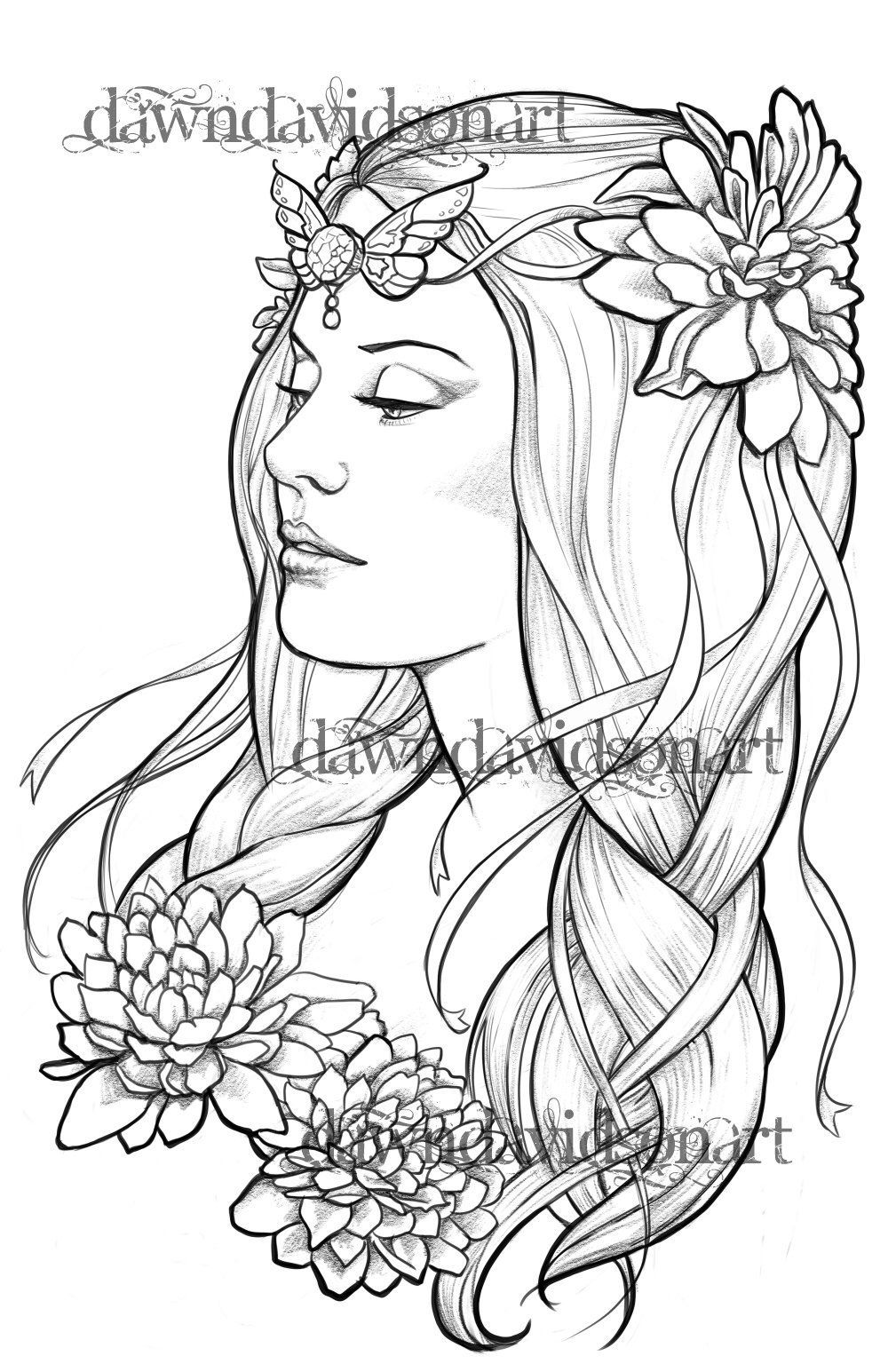 Pin On Beautiful Coloring Pages
