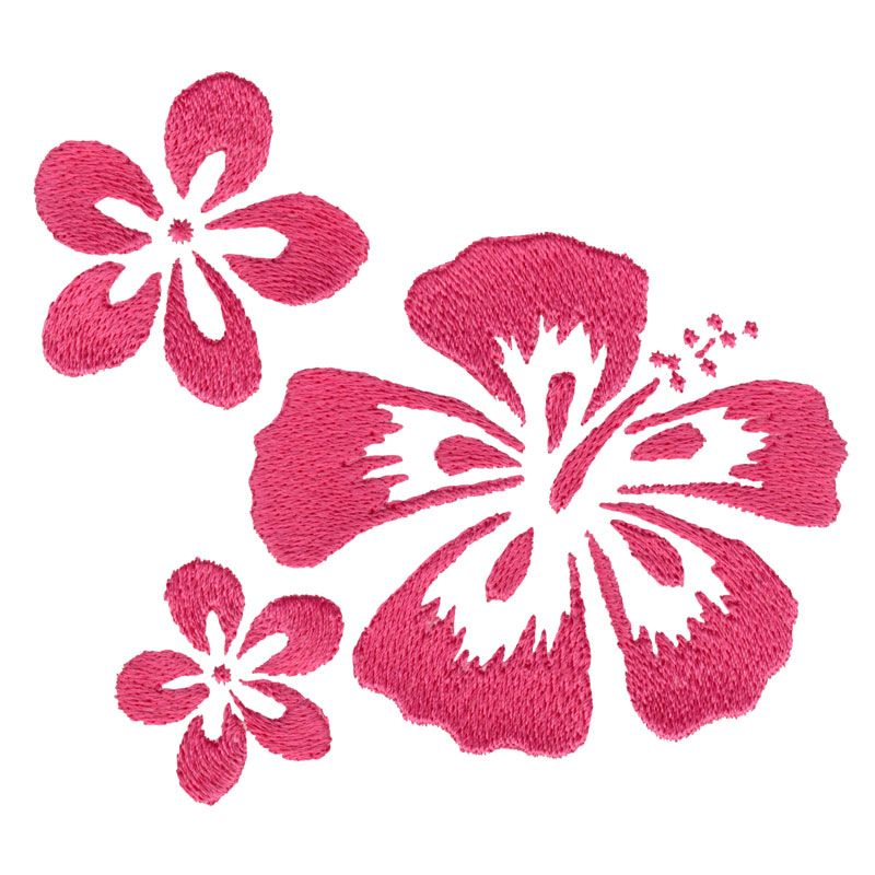 Free Embroidery Design Hawaii Flowers Machine Embroidery Designs Free Machine Embroidery Designs Embroidery Flowers
