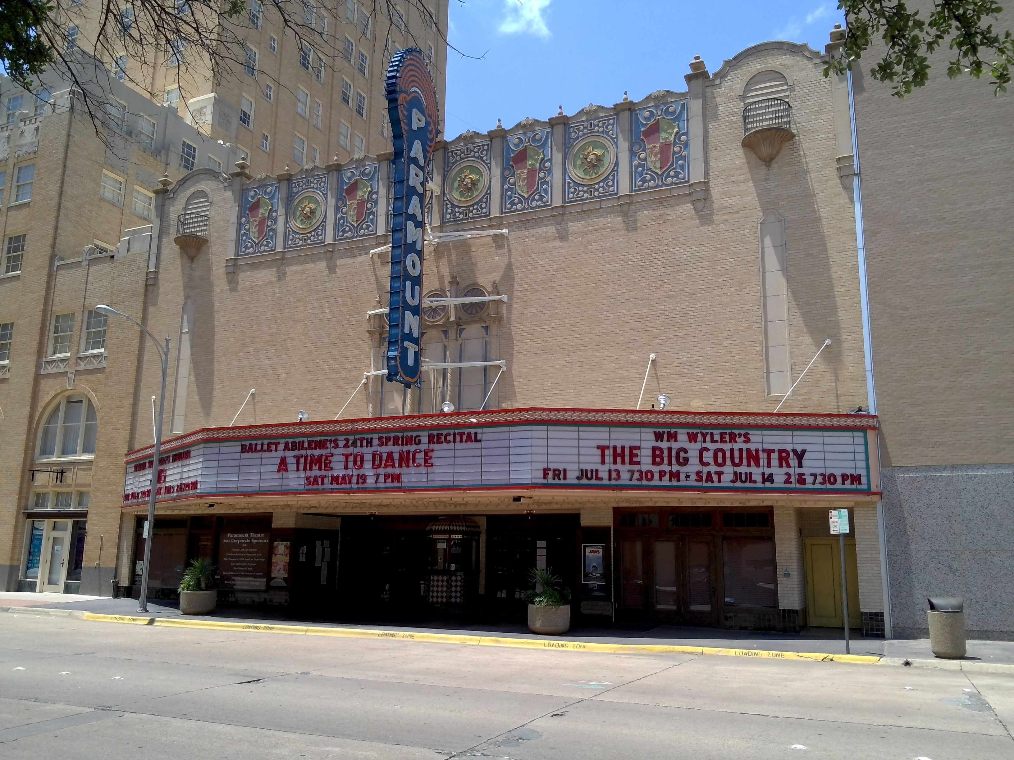 Paramount In Downtown Abilene Texas Abilene Texas Big Country Hometown