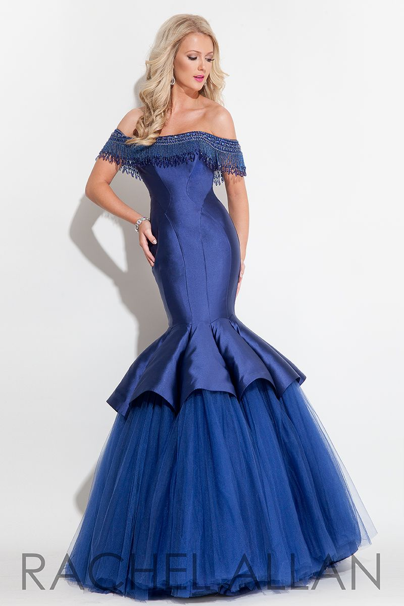 Prom dresses rachel allan style gowns pinterest