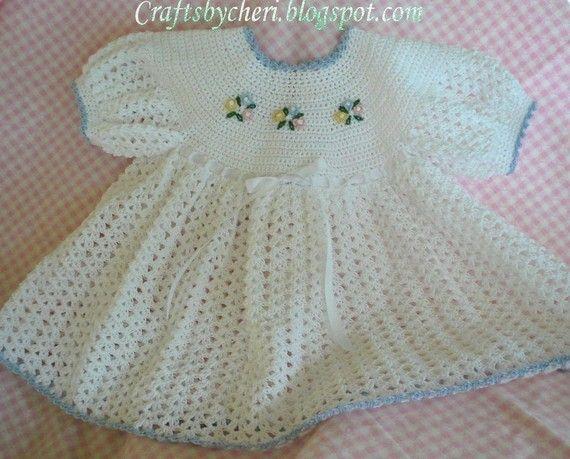Cheri Crochet Original bebé patrón-recién por craftsbycheri en Etsy