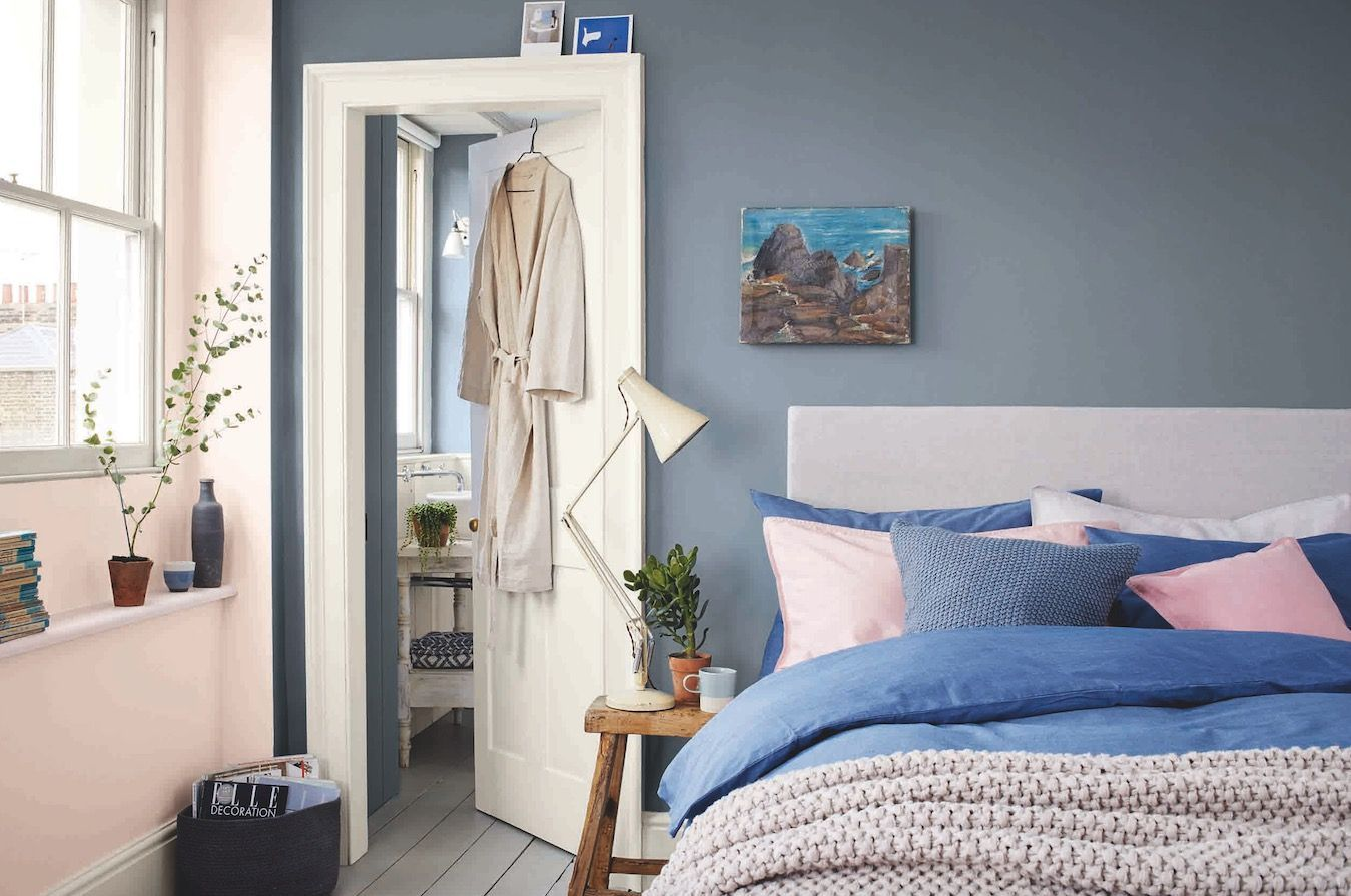 Calming paint shades that help reduce stress in 2020