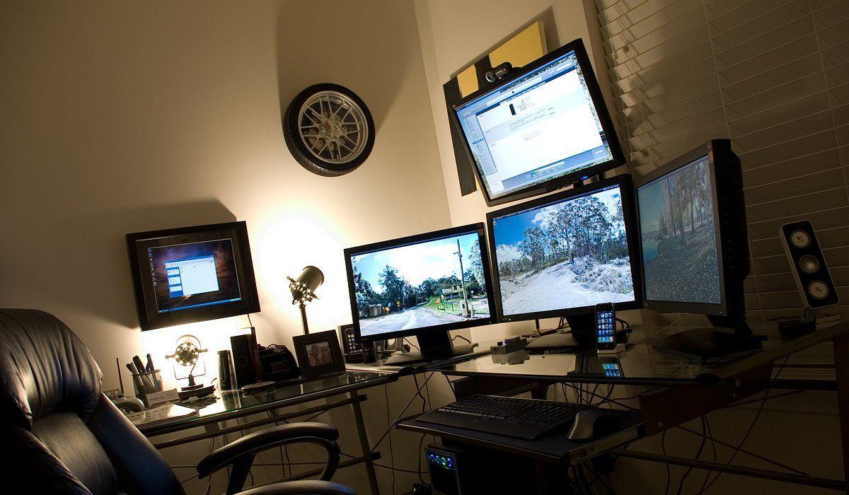 Mashup 20 Of The Coolest Home Office Workstation Setups