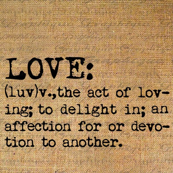 Definition on love