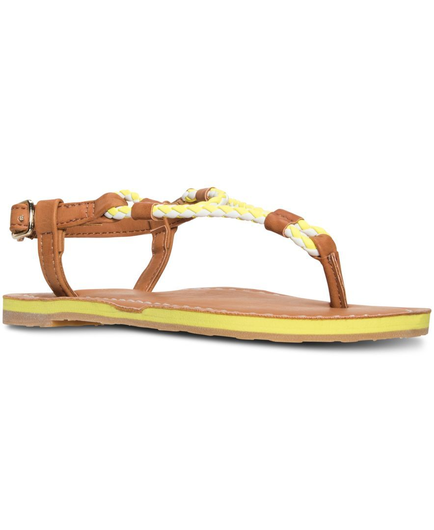 Polo Ralph Lauren Girls' Alexis Braided Sandals from Finish Line