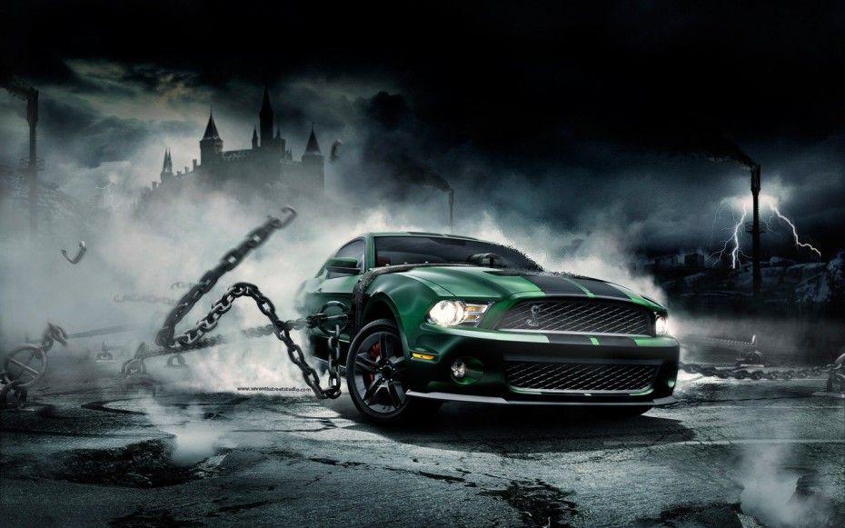 Shelby Mustang Cobra Wallpaper Dekstop Hd Wallpaper Bunny