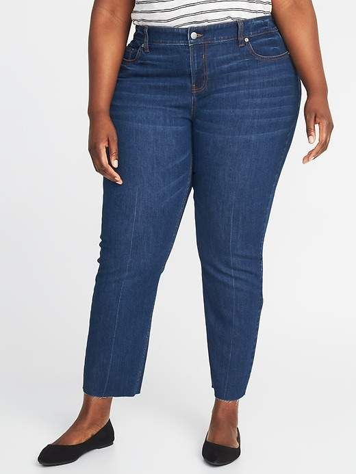 42f4fd35c7e Old Navy The Plus-Size Power Jean a.k.a. The Perfect Straight Ankle for  Women