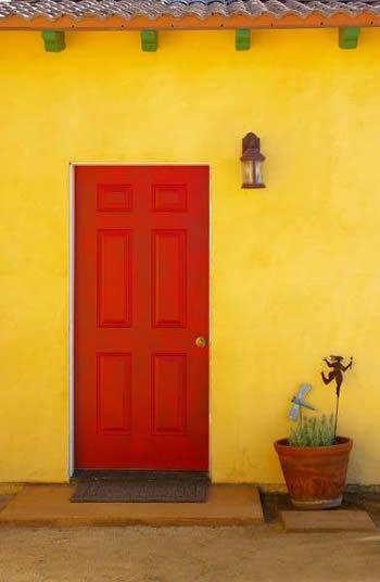 Santa Fe Style Santa Fe Style Beautiful Doors Red Door