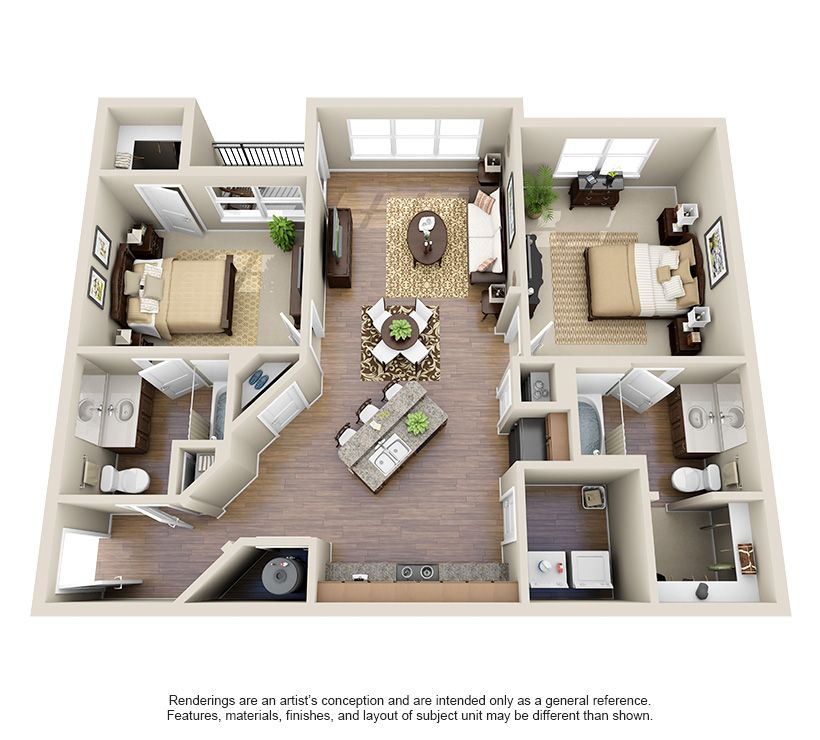One Two And Three Bedroom Apartments In Oklahoma City Ok Oklahomacity Oklahoma Apartment Steadfas Floor Plans Apartment Floor Plans House Layout Plans