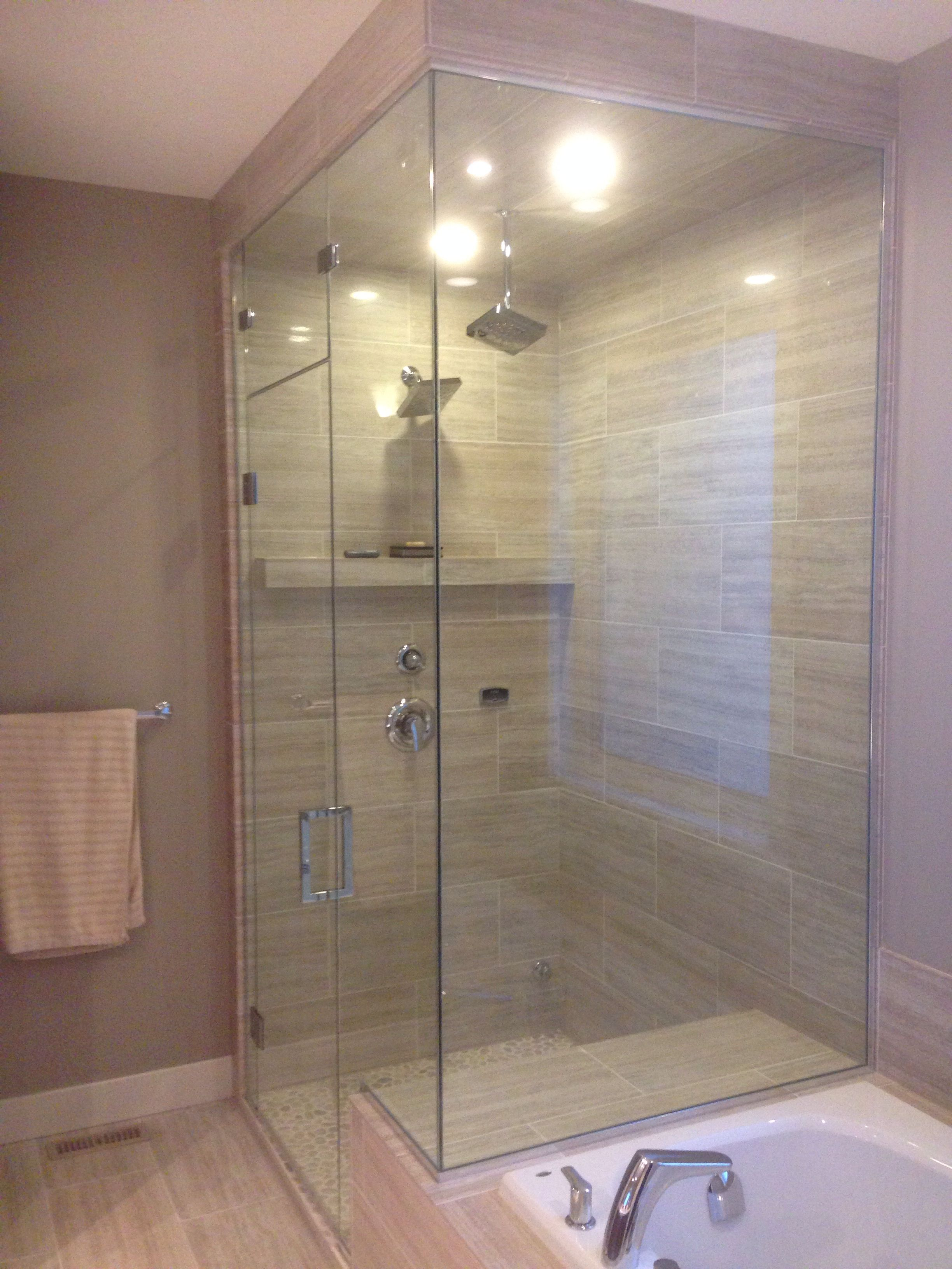Pin By Julie Fisher On Showers Designed By Accurate Glass And Lock Bathrooms Remodel Glass Shower Glass Shower Doors