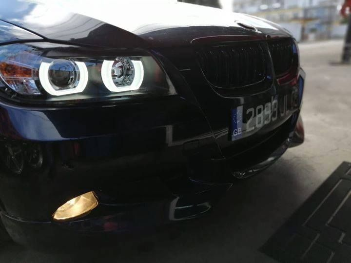 Sonar light tube headlight fitted on bmw e90. Visit our