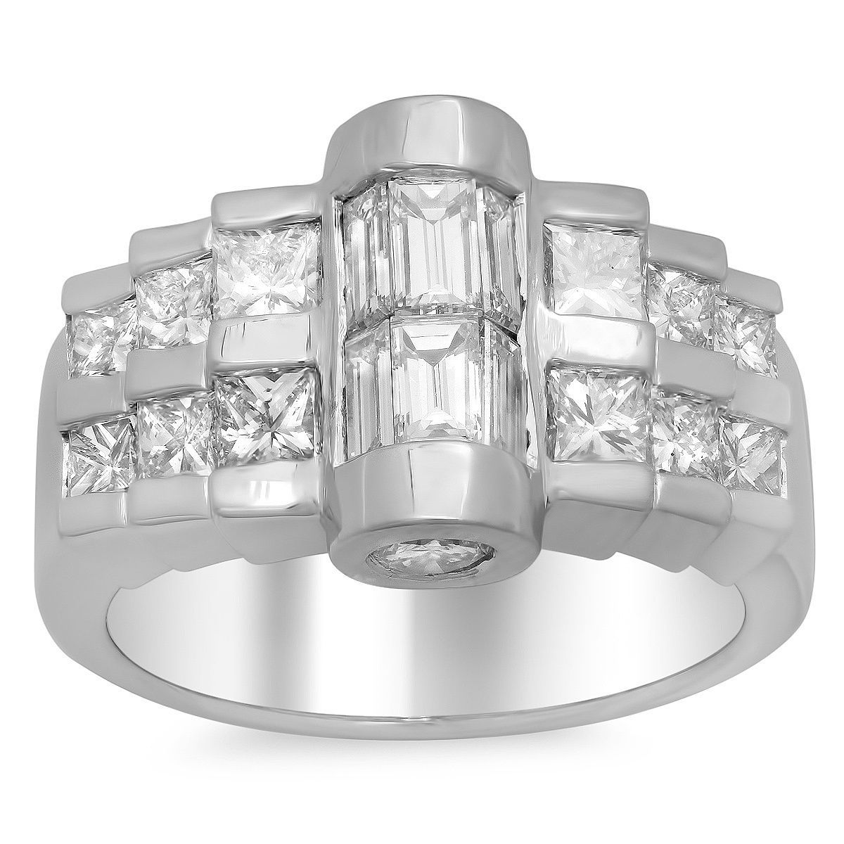 Artistry Collections 14k Gold 2 1/2ct TDW Diamond Ring