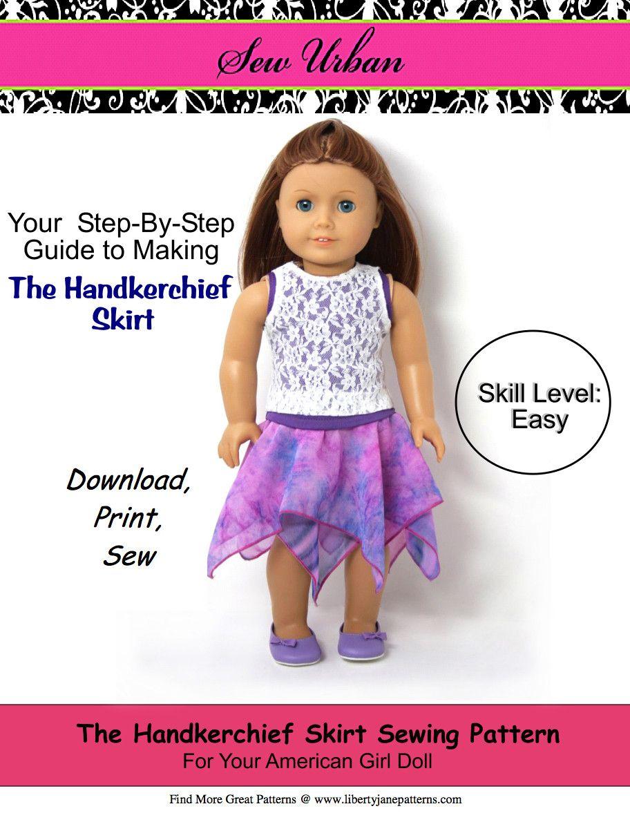 Handkerchief Skirt 18\
