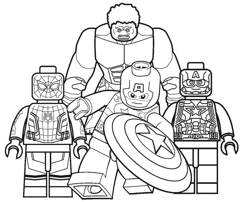 Lego Superhero Coloring Pages Best Coloring Pages For Kids Avengers Coloring Pages Superhero Coloring Pages Superhero Coloring