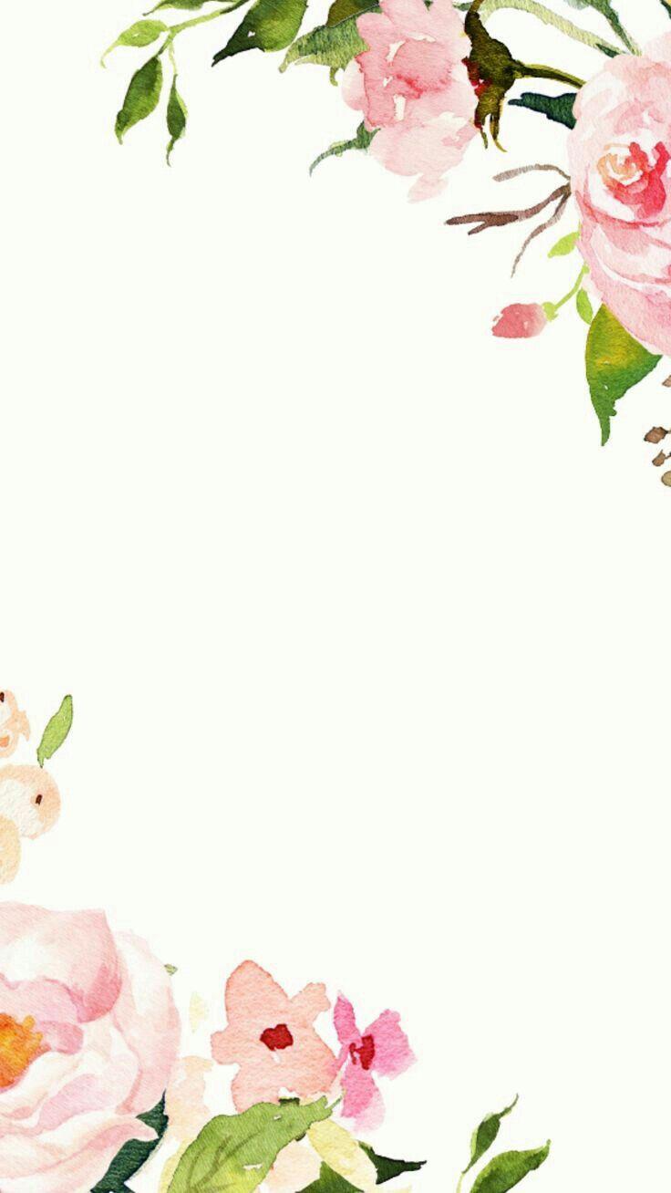 Pin By Swaran Gorowara On Backgrounds Floral Watercolor Flower