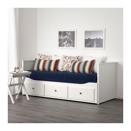 HEMNES Bedbank met 3 lades  - IKEA