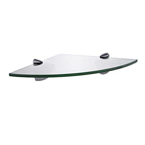 KES BGS3100 Lavatory Bathroom Corner Tempered Glass Shelf 8MM-Thick