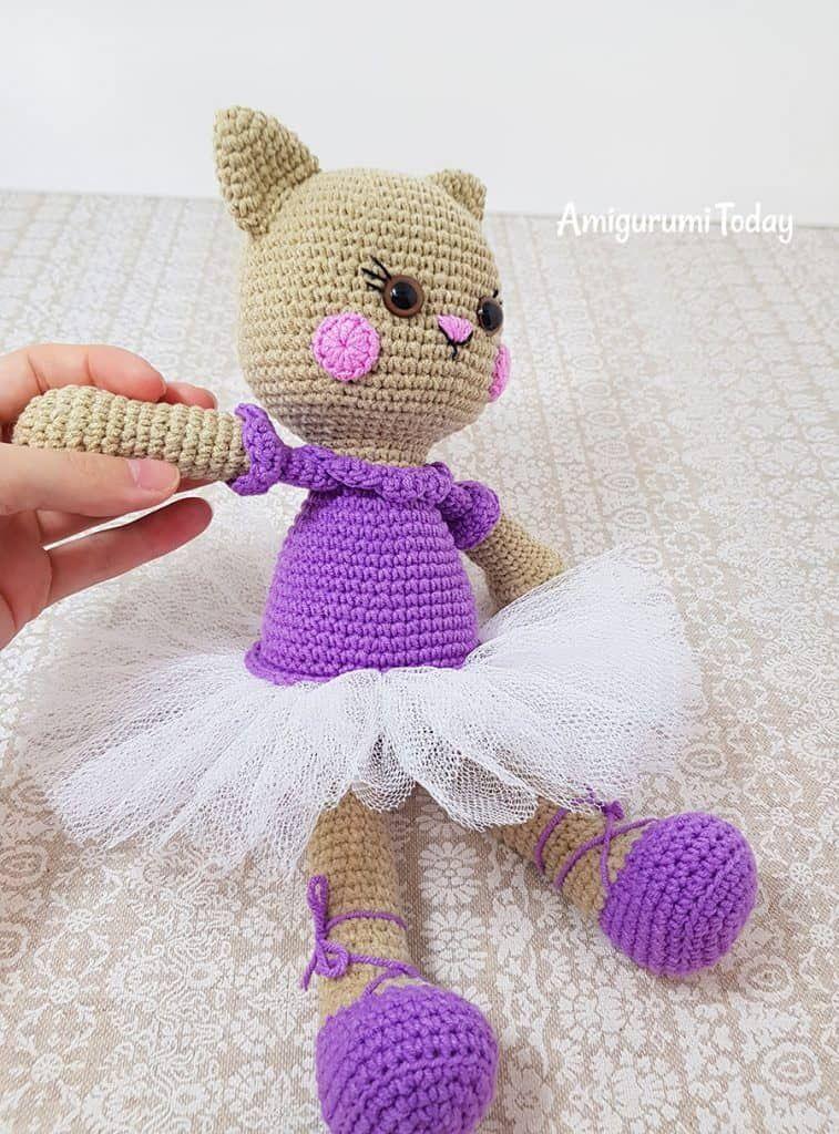 Ballerina Cat Doll Crochet Pattern Horgolas Mintak Es Amigurumi