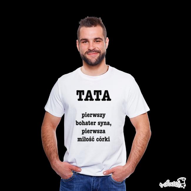 481400211 Koszulka męska z nadrukiem: Dzień Taty. #tshirt #męski #men #koszulka